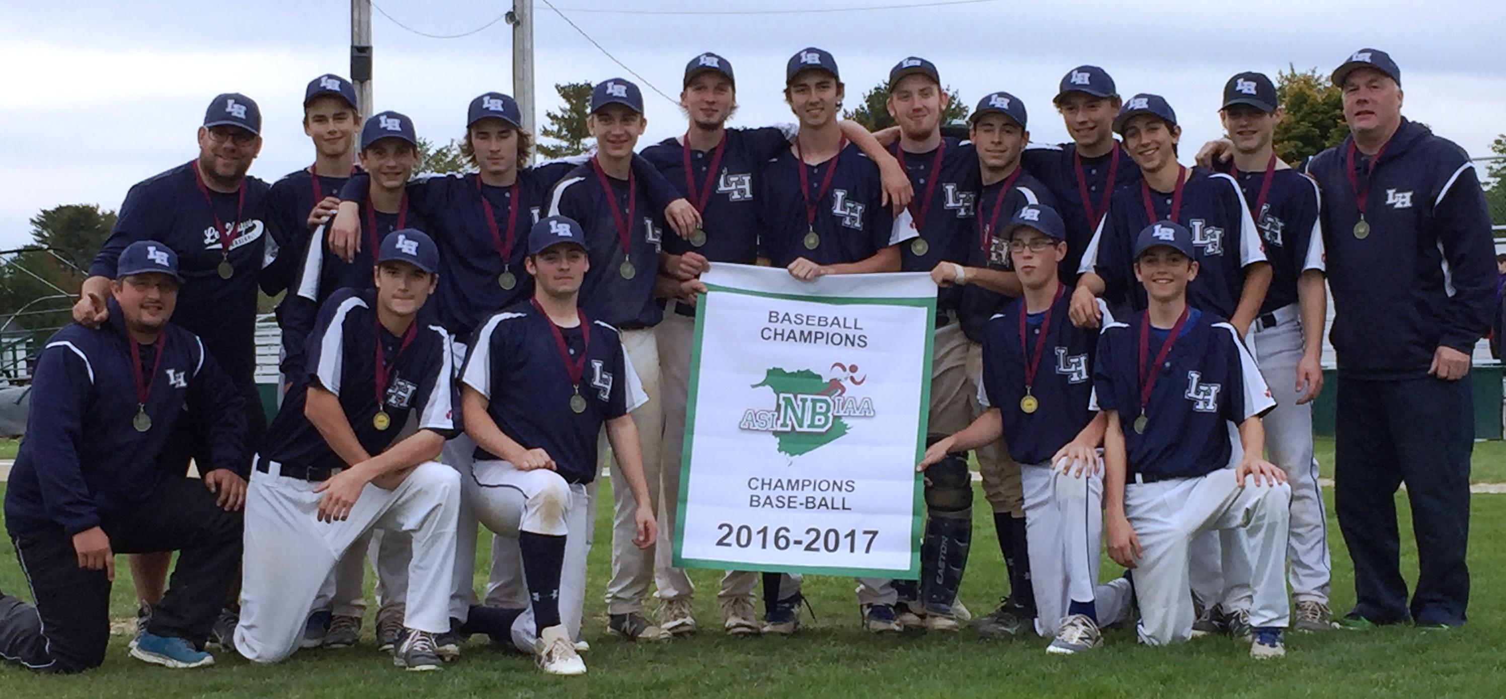 Baseball Champions 2016 - LHHS