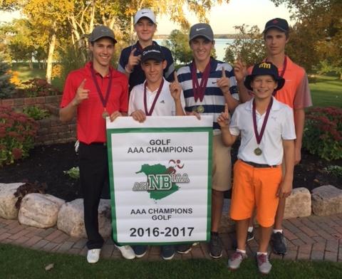 Golf - AAA champs EMM