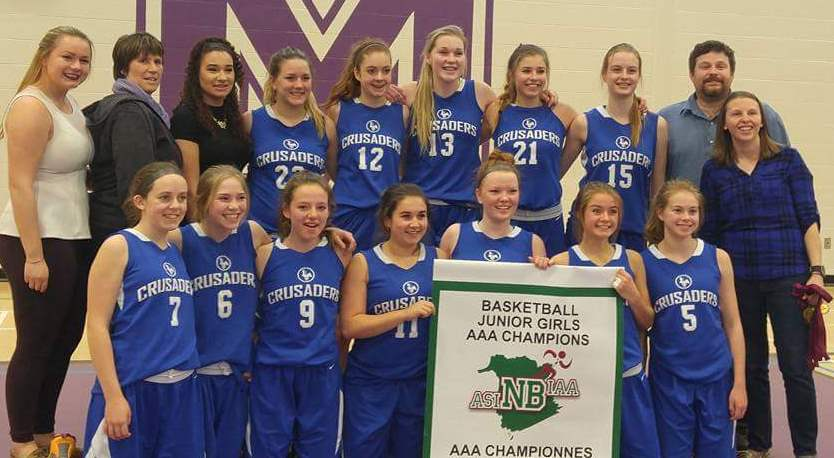 Bball - jr. girls aaa champs - kvhs