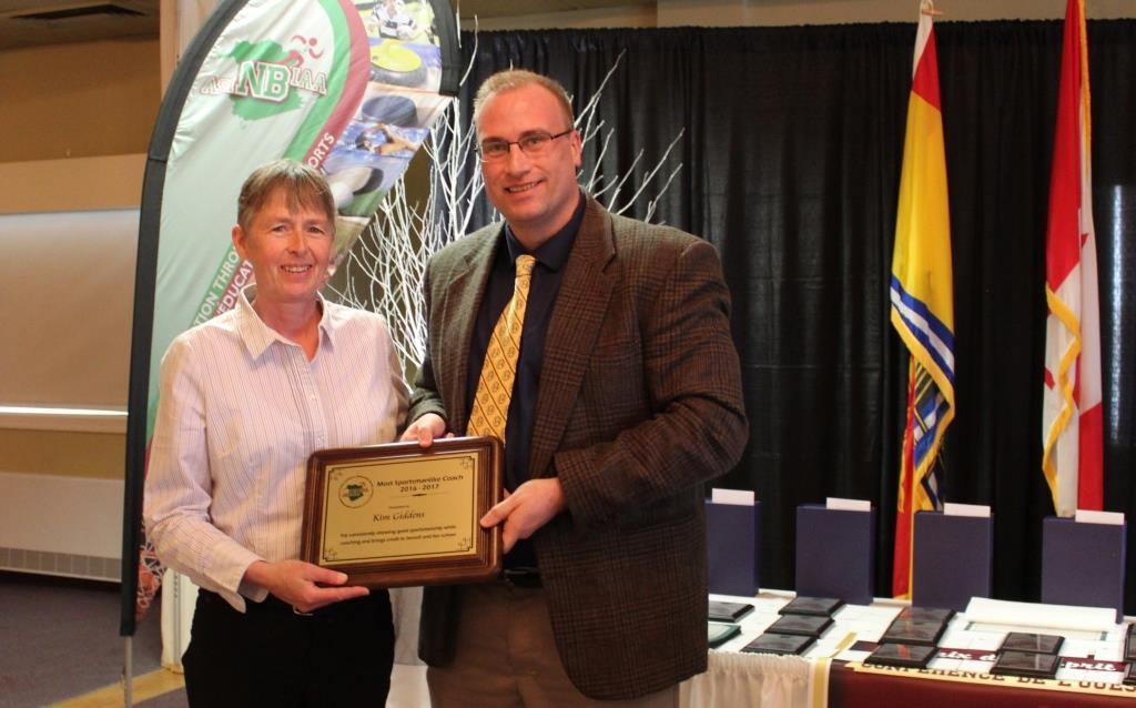 Emery Johnson Memorial Award - Kim Giddens - Belleisle Regional High School 1